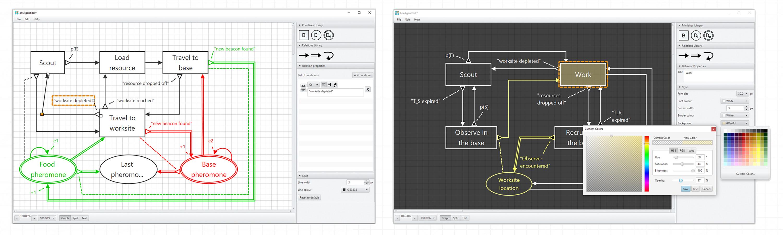 The Sketch BDRML interface