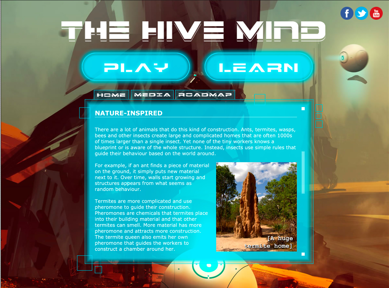 The Hive Mind website